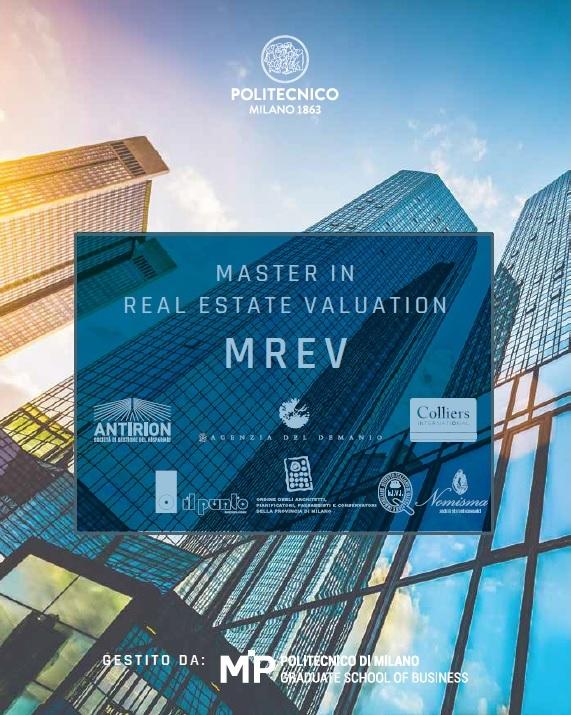 IL PUNTO/CORFAC International è tra i partner del Master in Real Estate Valuation (MREV) organizzato dal MIP Politecnico di Milano.